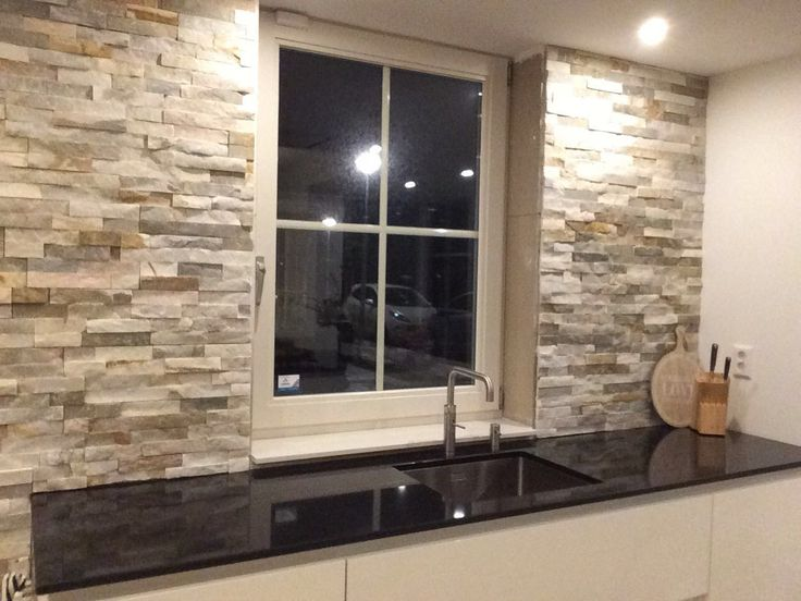 Stone Panels in keuken