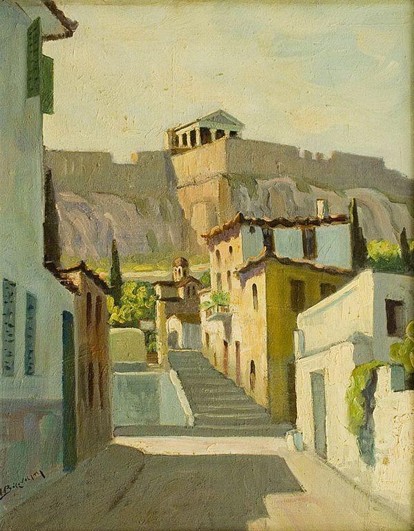 Βάρναλης Ιωακείμ – Joachim Varnalis [1907-1986] | paletaart – Χρώμα & Φώς