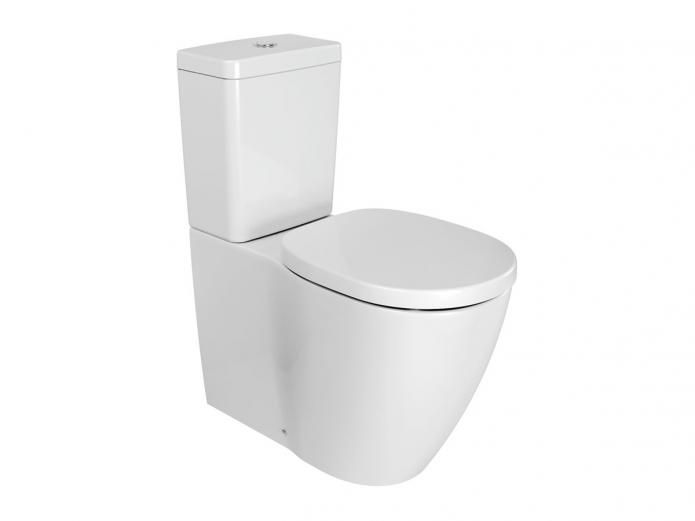 9502901 Ideal Standard Concept BTW Overheight Close Coupled Through a philosophy of sustainable design, Ideal Standard allows for personal expression and the creation of highly individual spaces. Each design exists to nurture a deep sense of wellbeing, giving you the freedom to create a bathroom where you feel like you truly belong. The Ideal Standard Concept Back To Wall Overheight Toilet Suite offers European styling and a raised pan height for easy transfer on and off seat. $796.99