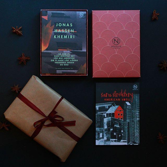 Plocka ihop fyra favoriter i en ask, typiskt bra julklapp. Beställer du nu (och fram till 20 dec) så är det garanterad leverans före jul