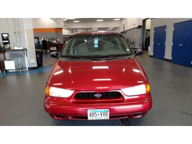 1998 Ford Windstar in the Toreador Red metallic.