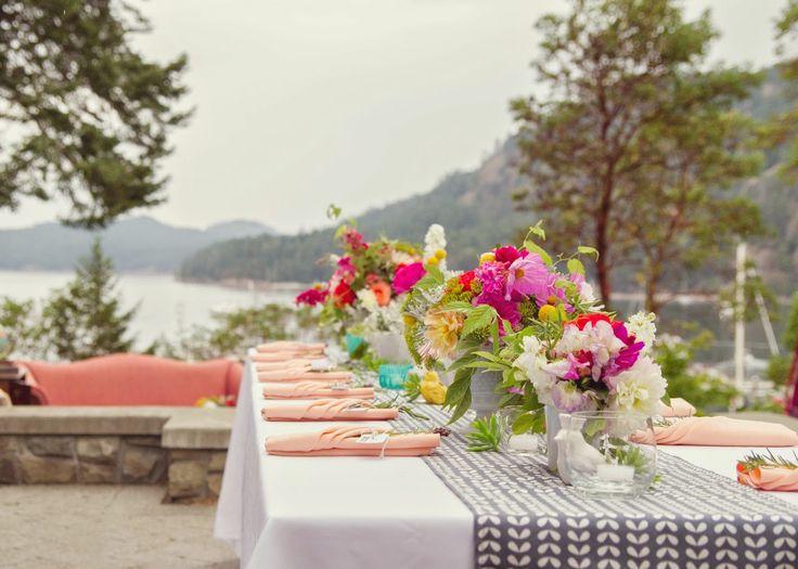 Pender Island, Poets Cove Summer Time, Vintage Flare, Garden Fun Wedding