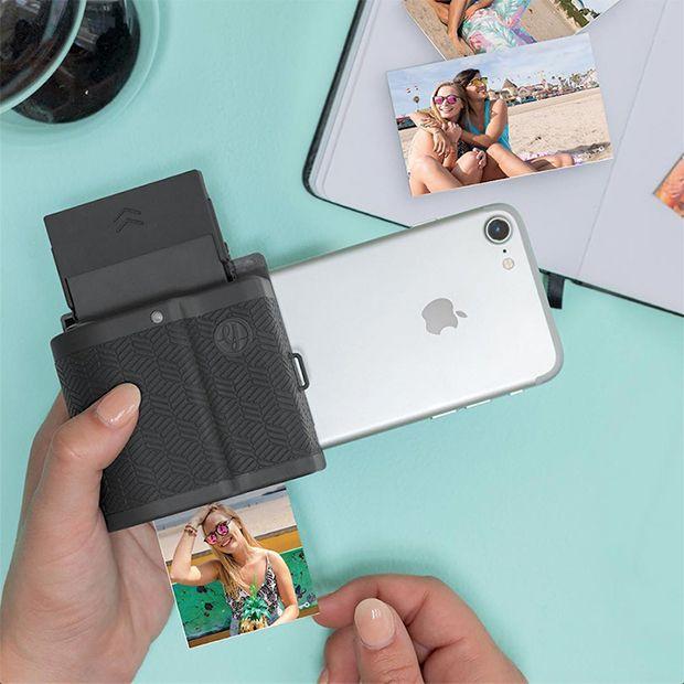 Prynt Pocket, capa para iPhone que transforma o smartphone em uma câmera fotográfica instantânea