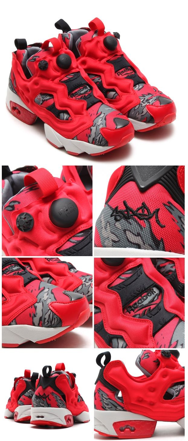 reebok pump red solo cup