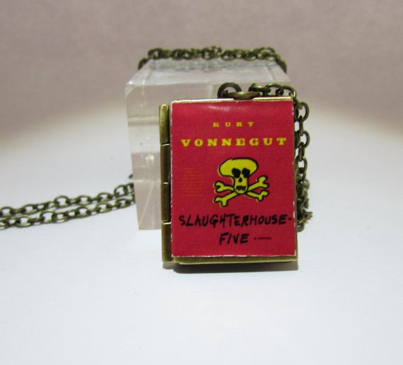 slaughterhouse five  Vintage BookLocket Pendant by Freaklikemee