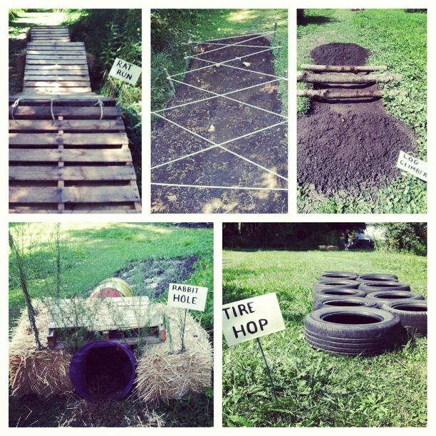 A Mud Run Birthday Party!! @Sam Heitger some how convince the girls they need this birthday party... You know for the kids... :/