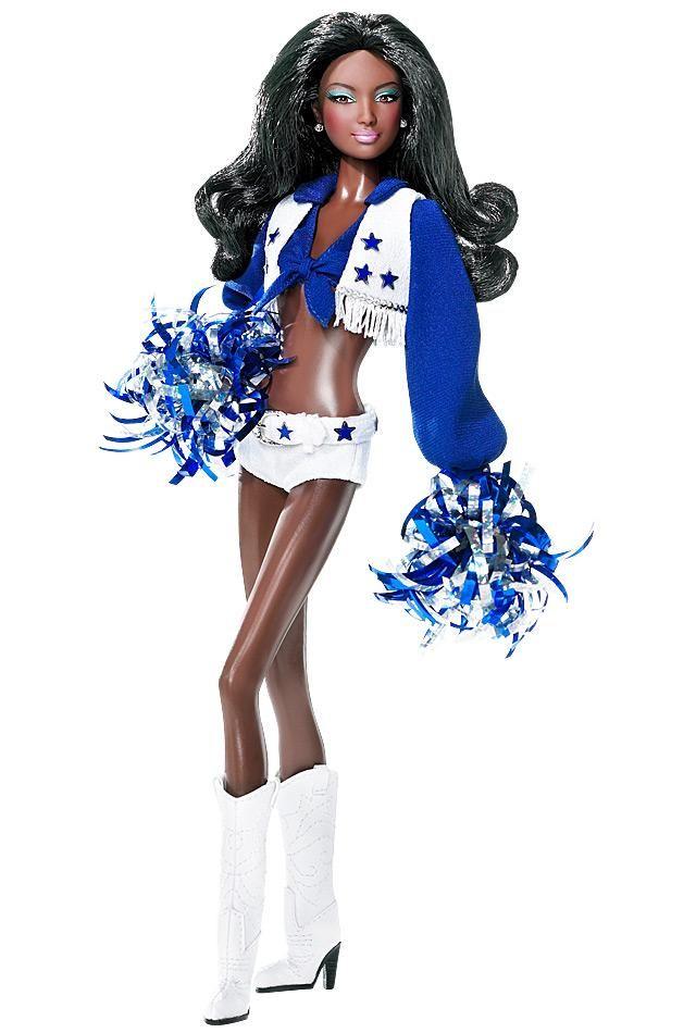 Dallas Cowboys Cheerleaders Barbie® Doll   Barbie Collector