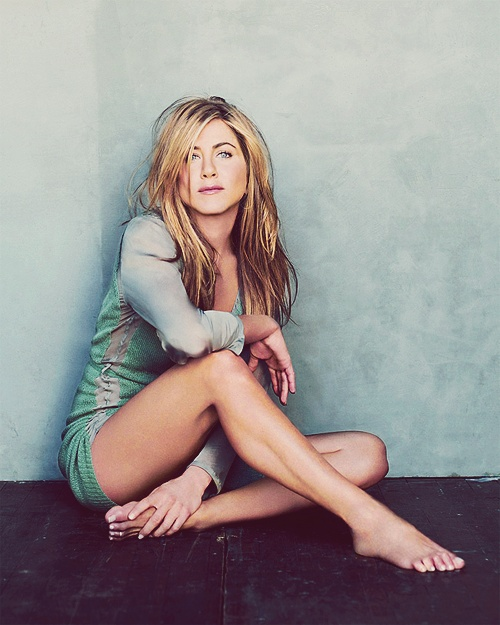"Jennifer Aniston: ""Once you figure out who you are and what you love about yourself, I think it all kinda falls into place."""
