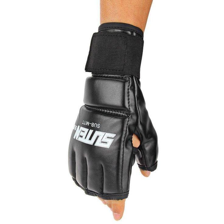 1 Paire New Cool Hommes MMA combat de boxe gants Muay Thai Formation Sac de Boxe Mitaines Sparring Gants De Boxe #18-25