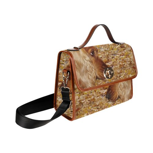 Cocker Spaniel Waterproof Canvas Bag/All Over Print. FREE Shipping. #artsadd #bags #dogs