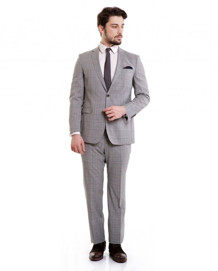 Karaca Erkek Takım Elbise - Gri #gentleman #suit #takımelbise #karaca #ciftgeyikkaraca   www.karaca.com.tr