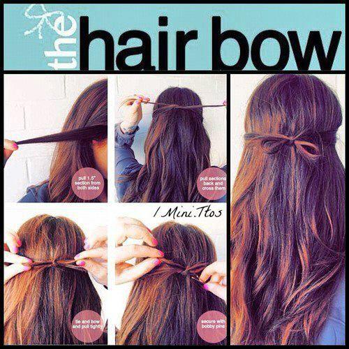 Cute and easy hair bow