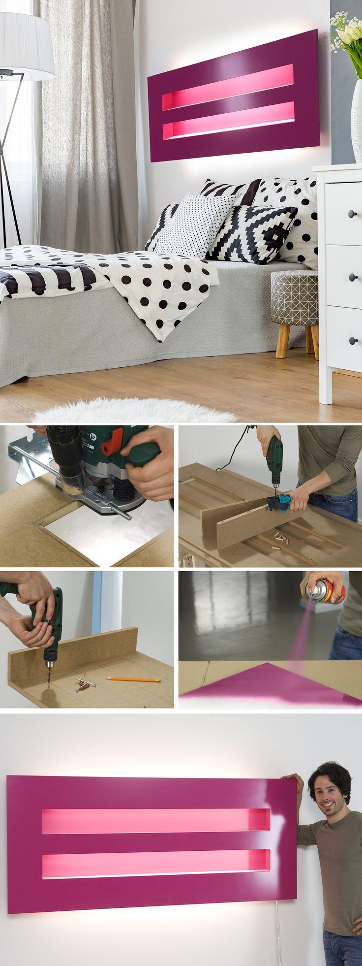 Estremamente Oltre 25 fantastiche idee su Mensole per camera da letto su  HR99