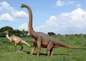 Life-sized brachiosaurus, yours for just £4195...