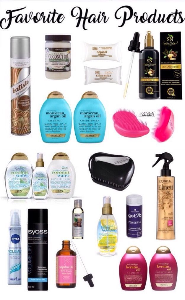 Those Are All My Favorite Hair Products For Flawless Hair And My