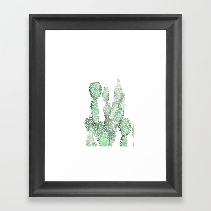 Buy Cactus Framed Art Print by ledendesign. Worldwide shipping available at Society6.com. Just one of millions of high quality products available.