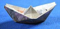Schritt 8 Geldschein falten Boot