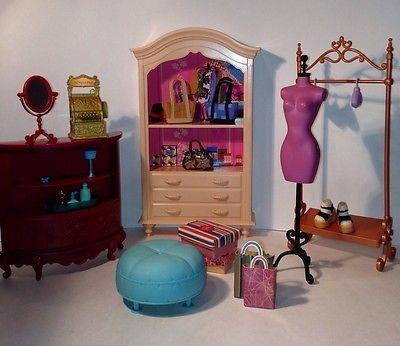 Mattel Furniture Boutique Barbie My Scene Ebay Barbies