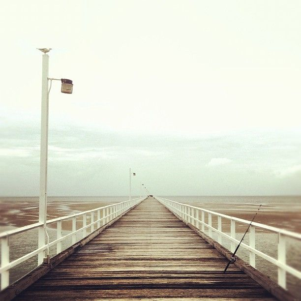 A bridge to nowhere? The Urangan Pier in Hervey Bay, #Queensland, Australia