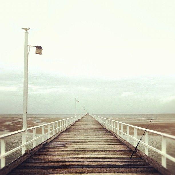 A bridge to nowhere? The Urangan Pier in Hervey Bay, #Queensland, Australia
