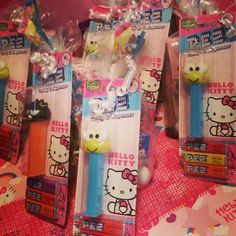 Hello Kitty favors for boys.