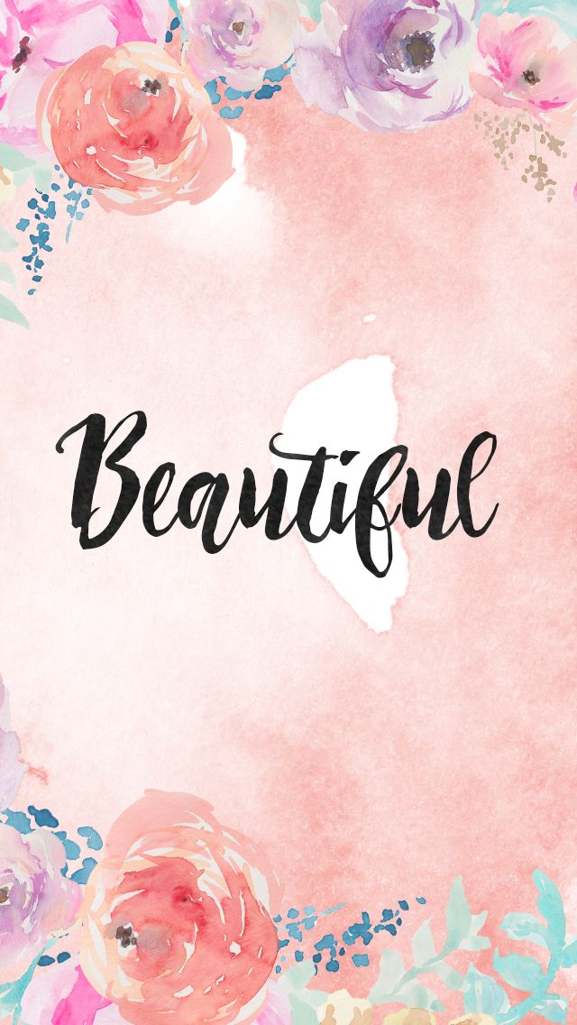 DLOLLEYS HELP: Free Watercolor iPhone 5s Wallpapers