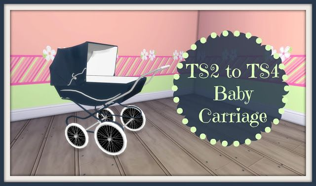 TS2 to TS4 - Classic Baby Carriage