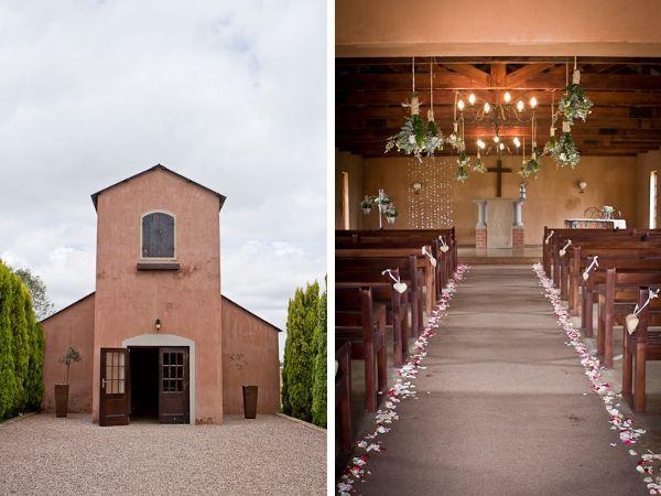 Hochzeitsdeko kirche diy