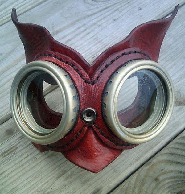 By Tamara from faceOdd wearable art masks