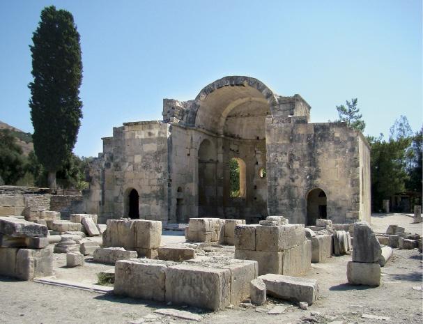 Γόρτυνα: Παναγία η Κερά  Gortyn: Holy Mary Kera (Our Lady)    Crete