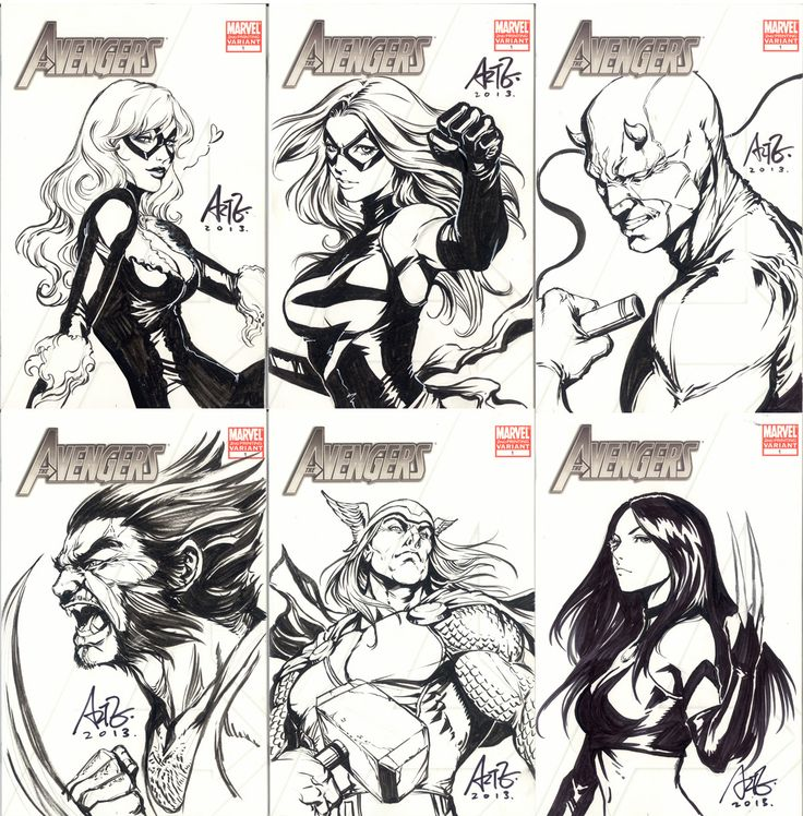 Original covers for Indonesia PopCon 2013 by `Artgerm on deviantART