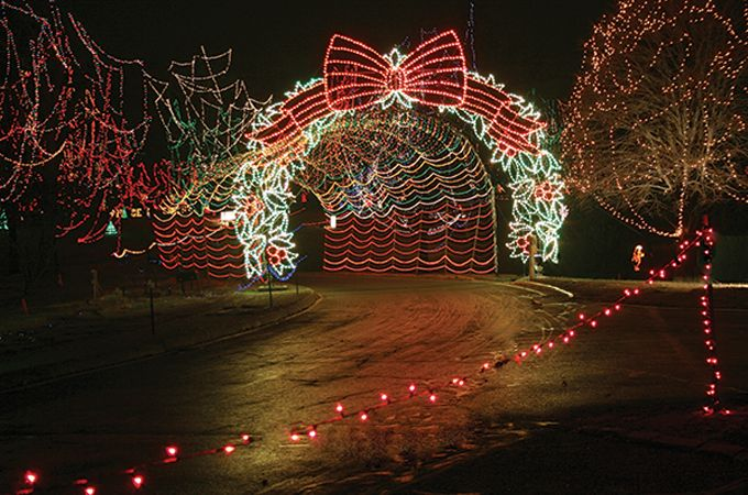 [Tilles Park Winter Wonderland] More than a million twinkling lights and 200 miles of cords: That's what it takes each year to turn Tilles Park into a magical Winter Wonderland, which since its debut in 1987 has become a favorite holiday tradition for thousands of St. Louisans.
