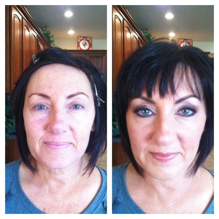 Mature Woman Before And After  Makeup Before And Afters -2642