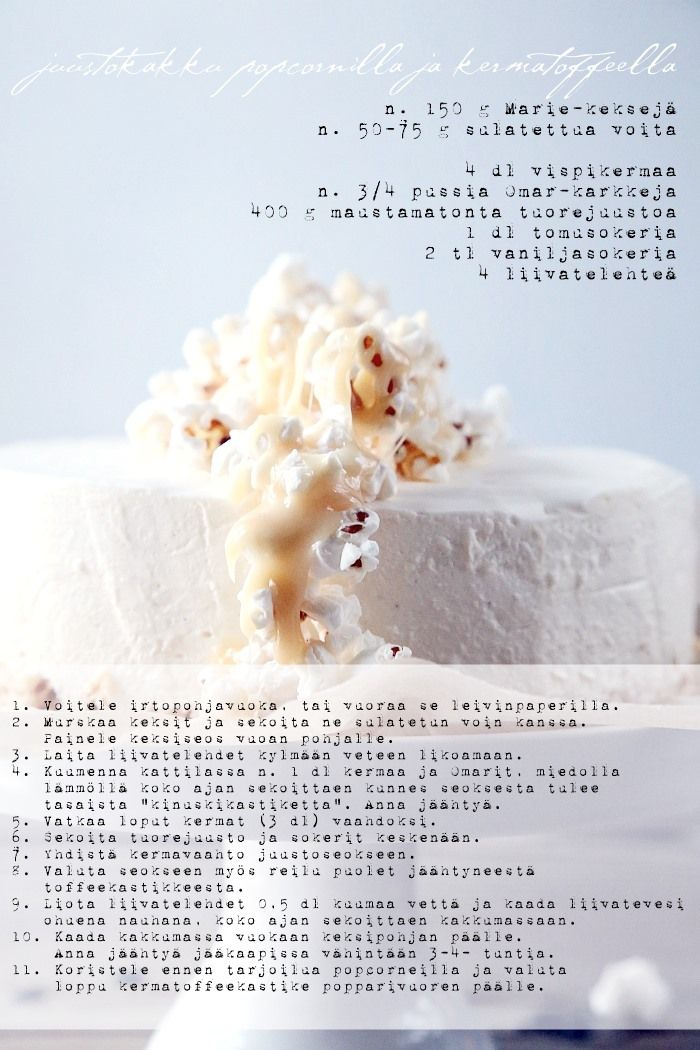 cheesecake with caramel and popcorn6