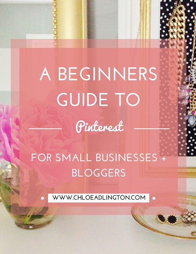In the past few weeks I've posted beginners guides to setting up a Facebook  page, Twitter and Instagram so today I'm completing the set with a guide to  Pinterest!   N.B. This is my beginners guide to Pinterest, for more advanced tips +  strategies for using Pinterest (plus Facebook, Twitter and Instagram) you  might want to check THIS OUT.  What is Pinterest + why use it?  Pinterest define their social media platform (of 100 million users) as a  'visual bookmarking tool that helps you…