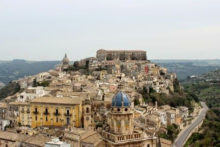 Ibla - view from Ragusa