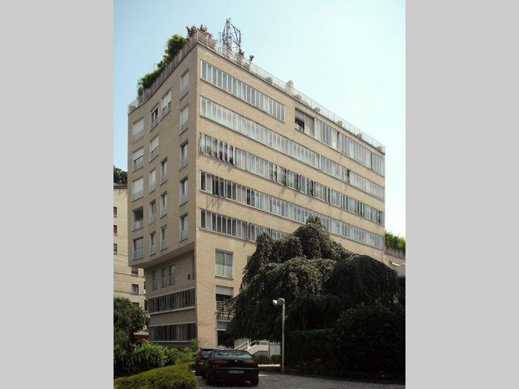 XXI Aprile apartment building - Asnago e Vender - itineraries - Ordine degli architetti, P.P.C della provincia di Milano