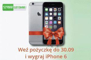 Szybka gotówka - wygraj iphone