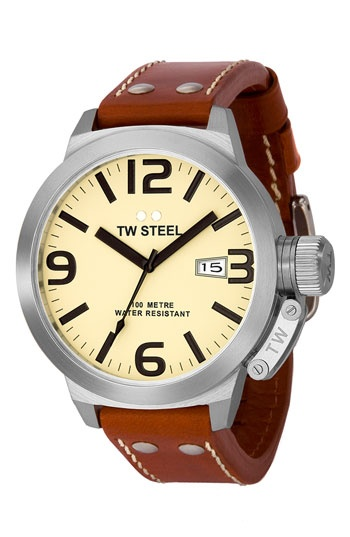TW Steel Stainless Steel Watch available at #Nordstrom