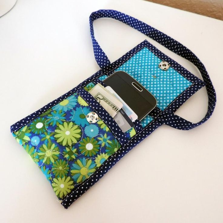 Quilting Bag Designs : Smart Phone Cases II #529 Inspiration