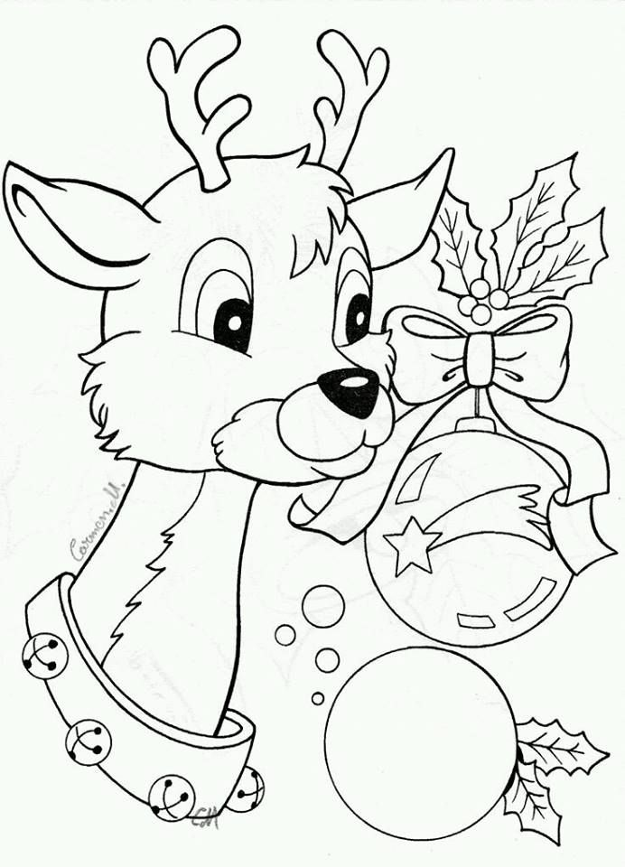Adult Coloring Christmas Image By Sandrea Lamansky Coloring