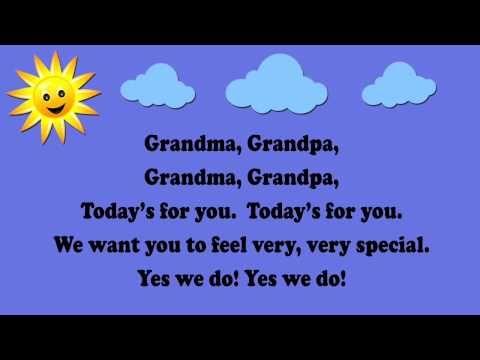 Grandma, Grandpa (Grandparents Day Song / aka Are You Sleeping?) - YouTube