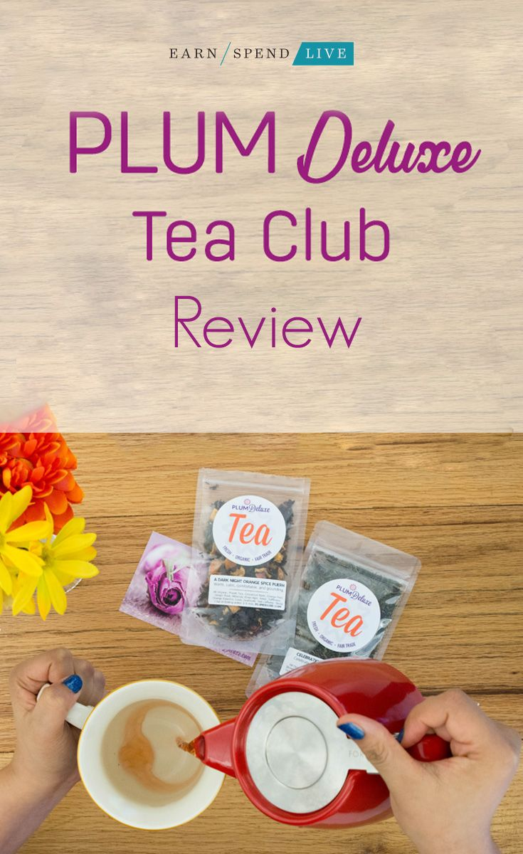 Does a tea subscription box sound delicious to you? Plum Deluxe Tea Club could be your next monthly box. It's high-quality tea delivered right to your door!