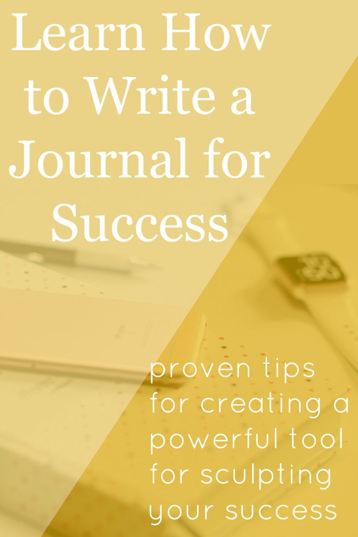 journal for success The wall street journal us edition us asia europe india 中国 (china) 日本 (japan) april 17, 2018 why children need chores today's demands for measurable childhood success—from the common core to college placement—have chased household chores from the to-do lists of.