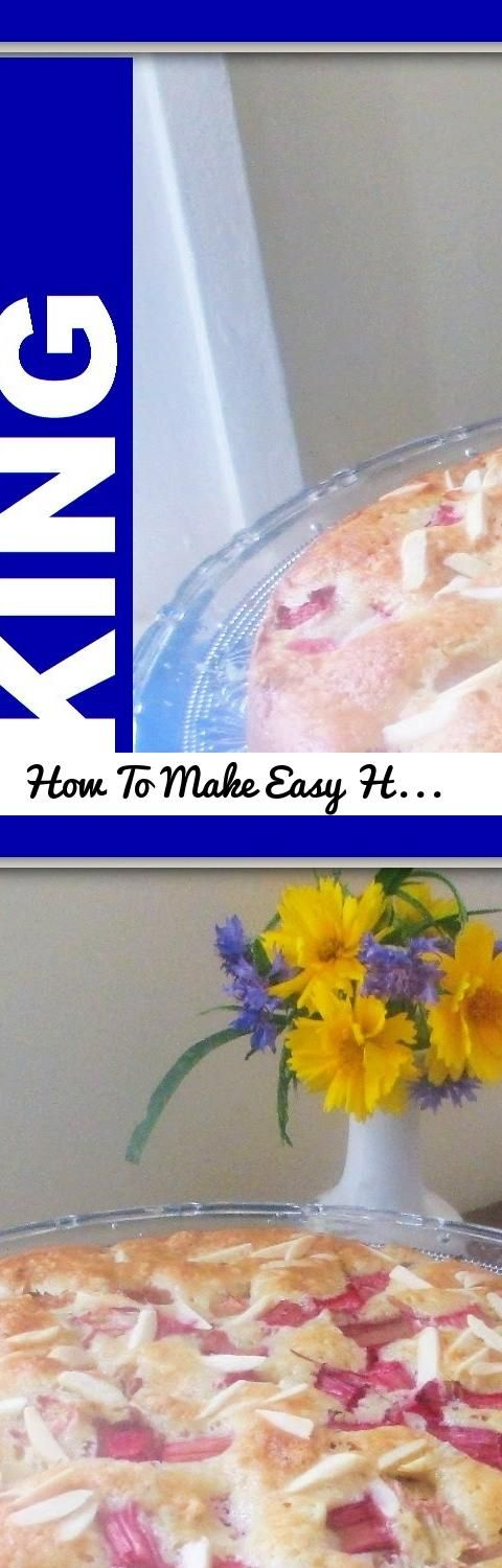 How To Make Easy Homemade Norwegian Rhubarb Cake Recipe... Tags: Norwegian Rhubarb Cake Recipe, Rhubarb Cake Recipe, Cake Recipe, Norwegian, Rhubarb, Cake, how to make a rhubarb cake, easy rhubarb cake recipe, scandinavian cooking recipes, tasty, homemade, how to make, how to, norwegian recipe, recipes, easy recipes, rubarba oppskrifter, rubarba oppskrifter
