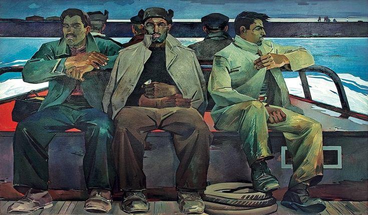 Oil in Tahir Salahov's creative activity « Gallery « SOCAR Plus - FULL OF ENERGY!