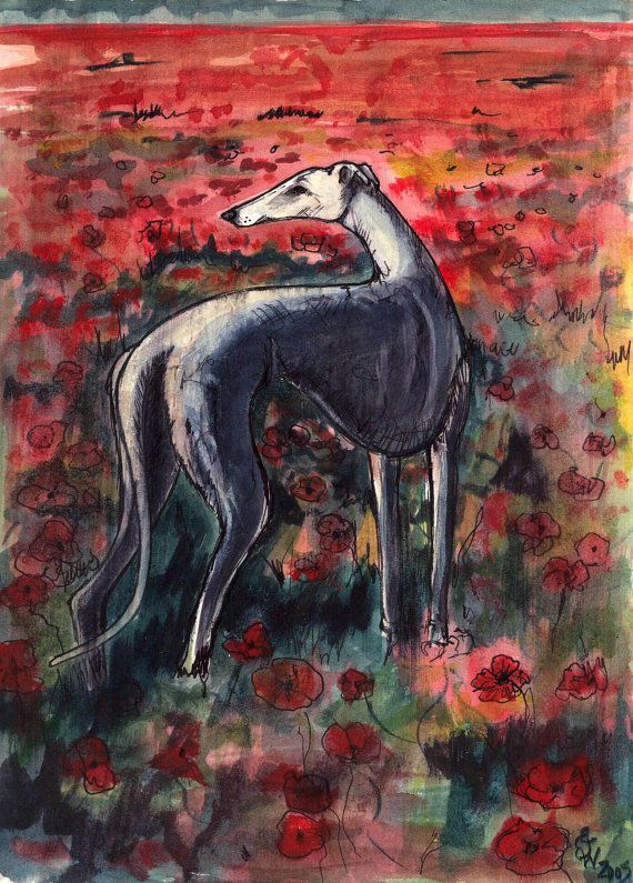 Greyhound Art.                                                                                                                                                      More