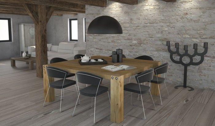 Vierkante eethoek keuken google search idee n voor het huis pinterest zoeken - Kamer buffet heeft houten eet ...