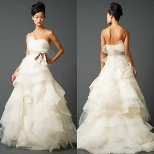Vera Wang Genevieve- LOVE this dress