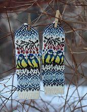 Ravelry: Titbirds Mittens pattern by Natalia Moreva